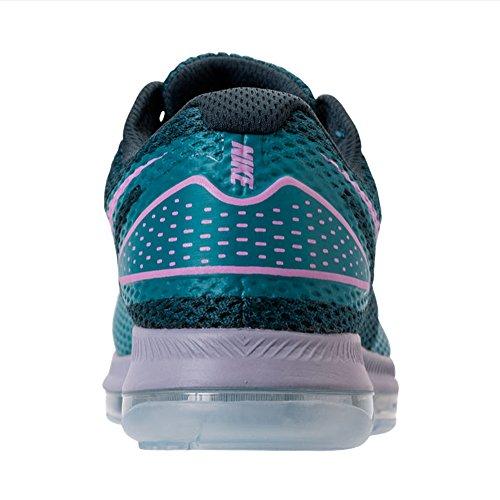 Nike W Zoom Allemaal Vanaf 2 Vrouwen Aj0036-400 Arsenaal Navy / Lt Magenta-stormachtig