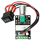 RioRand 6V 12V 24V 28V 3A 80W DC Motor Speed Controller PWM Speed Adjustable Reversible Switch 1203BB DC Motor Driver Reversing