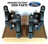 Ford FL3Z-99000A64-B Black Premium Locking, 4 Piece (Carbon Bed Cleats)