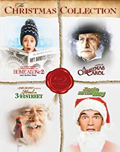 The Christmas Collection Home Alone 2 Lost In York A Christmas Carol Miracle On 34th Street Jingle All The Way Blu-ray by 20th Century Fox