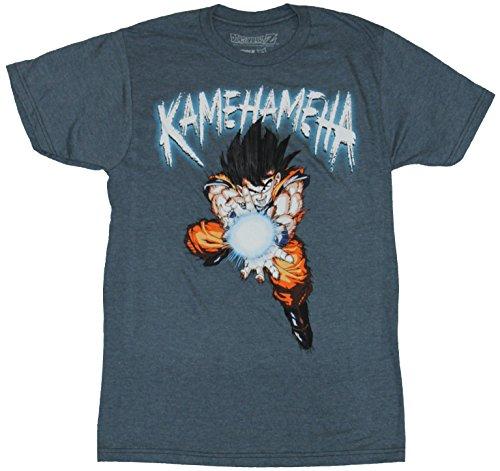 Dragonball Mens T Shirt Kamehameha Throwing