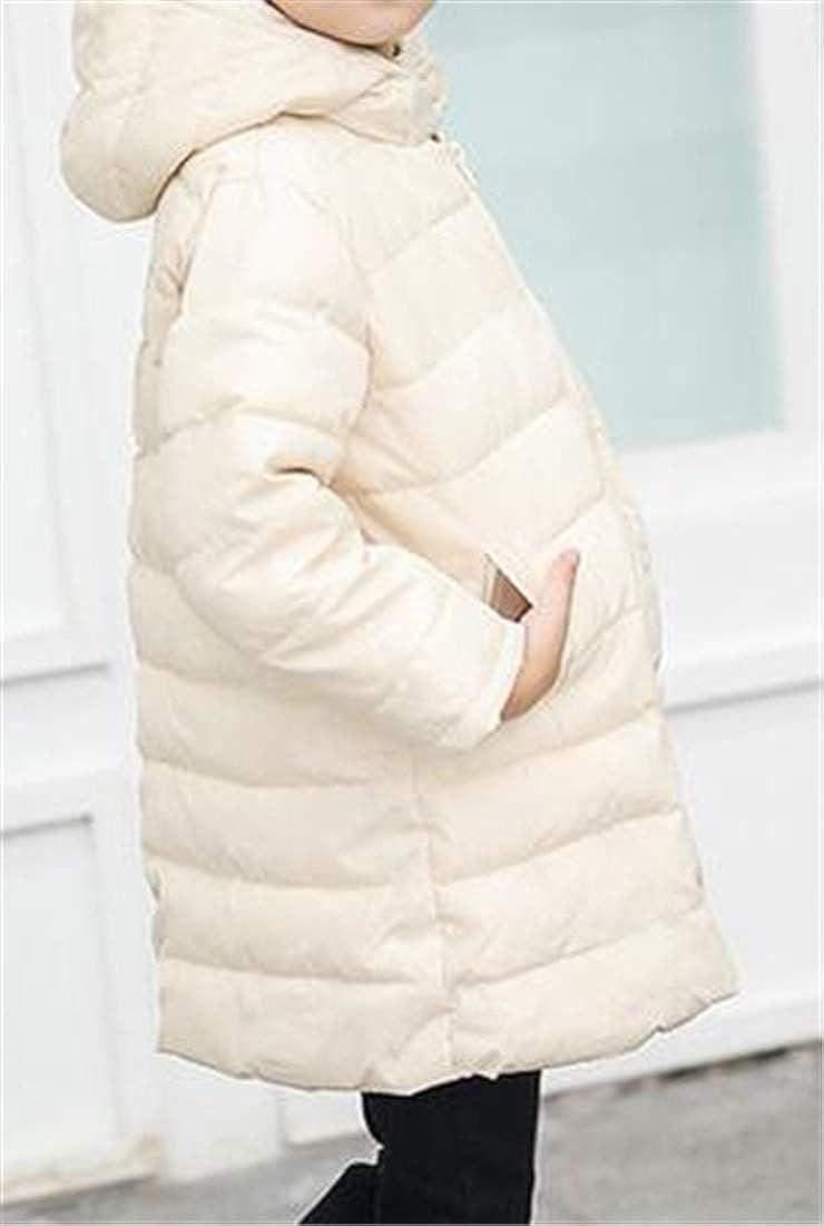 Sweatwater Boys Or Girls Stylish Outwear Hooded Zipper Puffer Hooded Parkas Coats Jacket