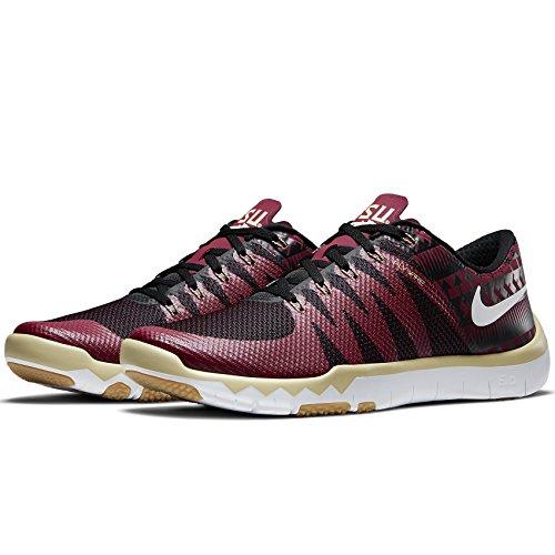 Nike Heren Gratis Trainer 5.0 Amp Heren Training Schoen Teamgoud / Team Kastanjebruin / Wit / Zwart