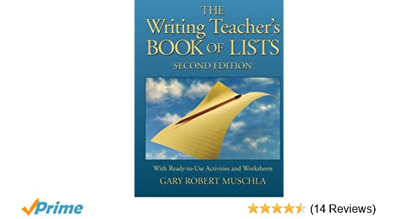 Amazon.com: The Writing Teacher\'s Book of Lists with Ready-to-Use ...