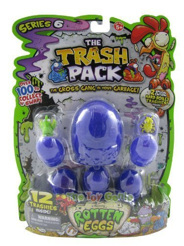 The Trash Pack Series 6 Rotten Eggs: 12 Pack from Moose