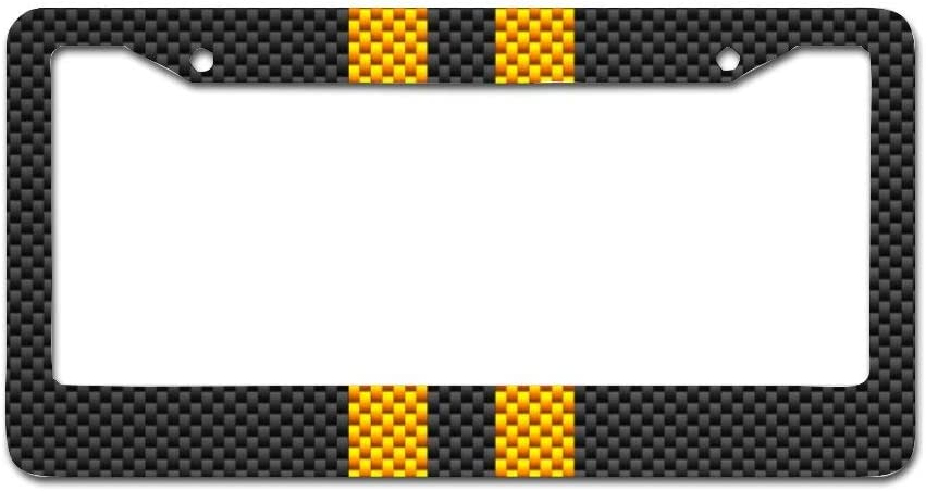 Quattroerre 16109 Customisable License Plate Holder for Motorcycle Tri-Colour Carbon