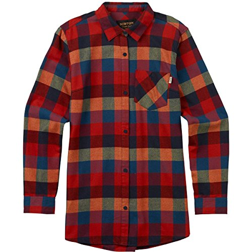 - Burton Lagoon Long Sleeve Woven, Cally Plaid, Medium