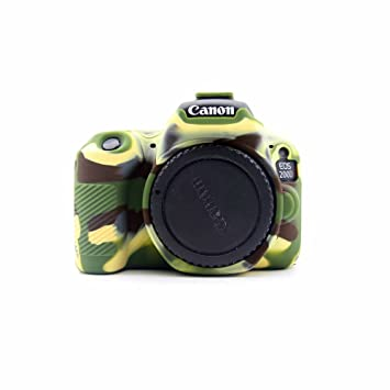1 Funda de Silicona Suave para cámara réflex Digital Canon EOS ...