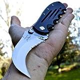"Best NEW Karambit Knives - 8"" M-TECH Karambit Claw FOLDING POCKET KNIFE Hawkbill Review"