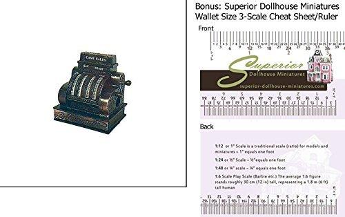 Dollhouse Cash Register Pencil Sharpener by Dee's Delights