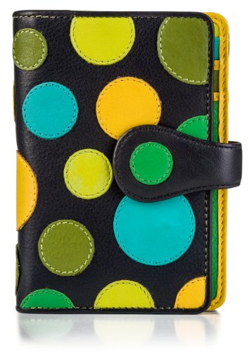 visconti-p1-saturn-ladies-soft-leather-large-bifold-wallet-purse-with-polka-dots-lily-pad