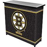 Cheap NHL Boston Bruins Two Shelf Portable Bar with Case