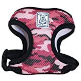 RC Pet Products Cirque Soft Walking Dog Harness, Large, Pink Camo, My Pet Supplies