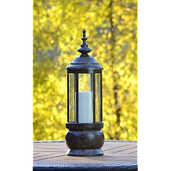 Amazon.com: H Potter Decorative Hanging Patio Deck Candle Holder ...