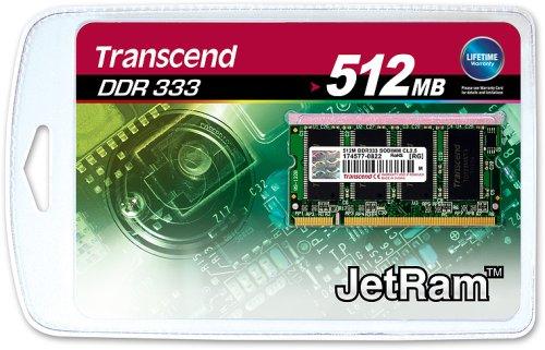 Transcend JM467D643A-60 512MB JetRam DDR333 SO-DIMM