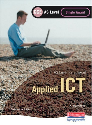 Edexcel as GCE Applied ICT