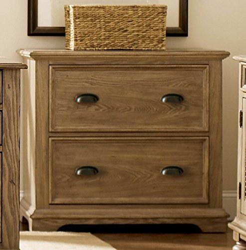 Cheap Riverside Furniture Coventry Lateral File Cabinet (Weathered Driftwood)