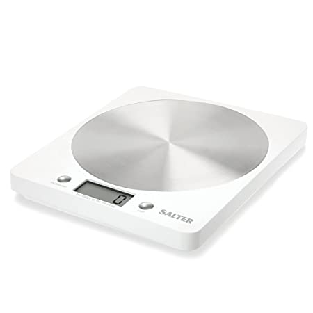 salter disc digital kitchen weighing scales stylish silver rh amazon co uk
