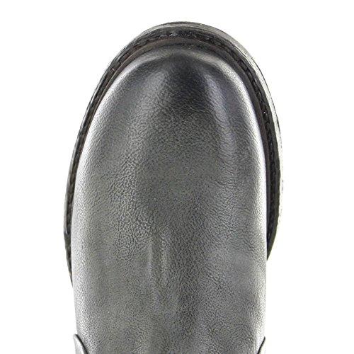 Fb Mode Støvler As98 261.202 Røg Nero / Damer Ankelstøvle Grå Sort / Damer Sko / Damer Støvler Røg Nero 72vLQTJXNx