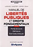 Manuel de libertés publiques et droits fondamentaux