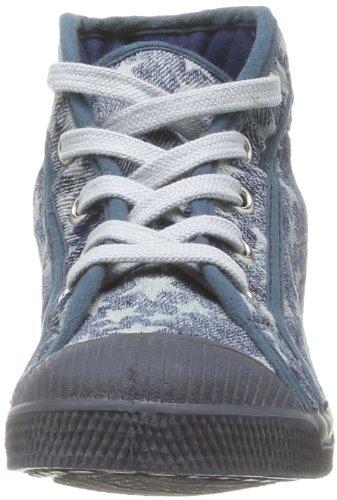 Bensimon Tennis Mid Star Pr - Zapatillas de Deporte de tela Infantil azul - Bleu (Bleu 532)