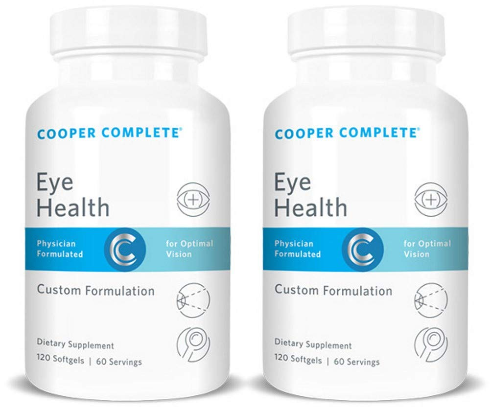 Cooper Complete - Eye Health Supplement - Lutein and Zeaxanthin, Vitamin C & E - 120 Day Supply