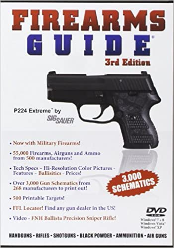7th edition firearms guide dvd + 2 free 6-mo online subscriptions.