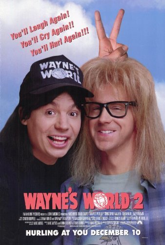 Wayne's World 2 POSTER Movie (27 x 40 Inches - 69cm x 102cm) (1993)
