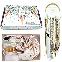 DIY Dream Catcher Kit Make Your Own Craft Activity Project Wall Hanging Stocking Stuffer Gift for Kids and Adults