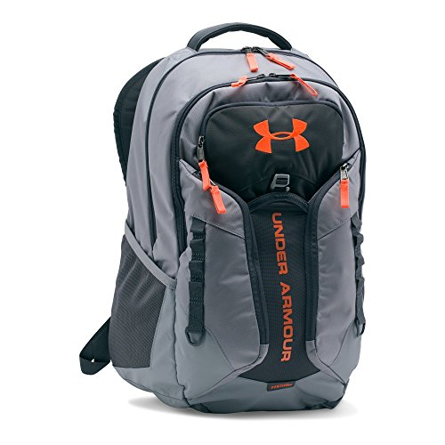 Under Armour Storm Contender Backpack, Steel/Stealth Gray, One Size