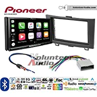 Volunteer Audio Pioneer AVH-W4400NEX Double Din Radio Install Kit with Wireless Apple CarPlay, Android Auto, Bluetooth Fits 2007-2011 Honda CR-V
