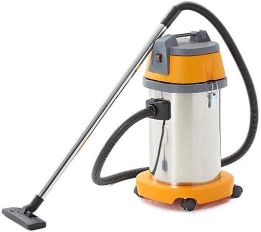 XGHW Aspirador seco y húmedo, Aspirador 1500W 30L con silenciador, 3 en 1 multifunción húmedo/seco/soplado, Metal Acero Inoxidable, súper succión, para aspiradora Comercial de Oficina: Amazon.es: Hogar