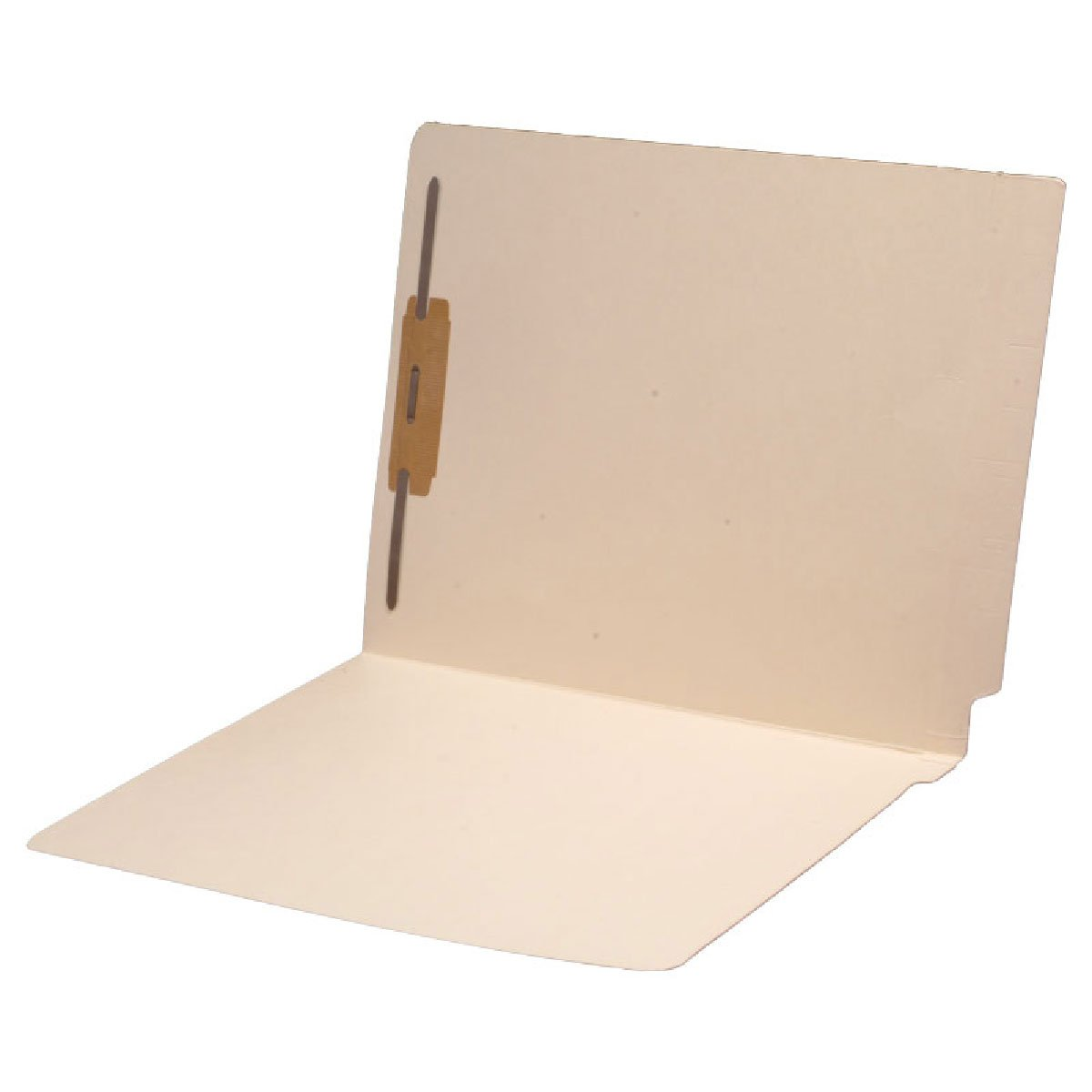 14 pt Manila Folders, Full Cut 2-Ply End Tab, Letter Size, Fastener Pos #1 (Carton of 250)