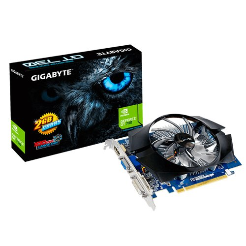 73 opinioni per Gigabyte Scheda Grafica GeForce GT 730 GV-N730D5-2GI, 2048MB GDDR5