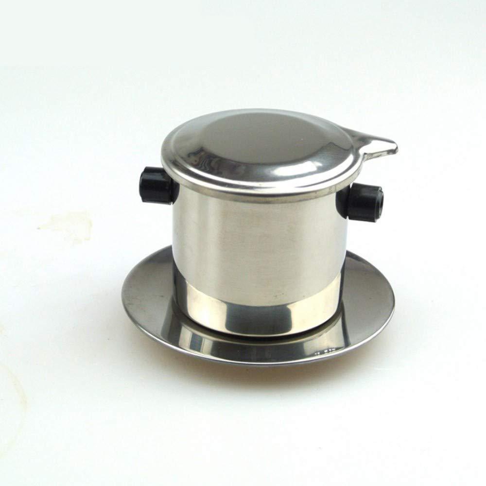 Fabricante de café portátil Mini fabricante de acero inoxidable ...