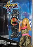 Hannah Montana - Silver-Link LCD Watch with Star Charms