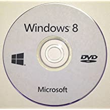 Windows 8 Professional & ProMediaCenter 64-Bit on DVD-ROM - Used to Repair, Recovery, Restore and Re-Install