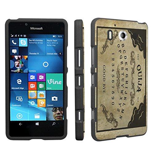 Lumia 950 Case, DuroCase ® Hard Case Black for Microsoft Lumia 950 (Released in 2015) - (Ouija Board)