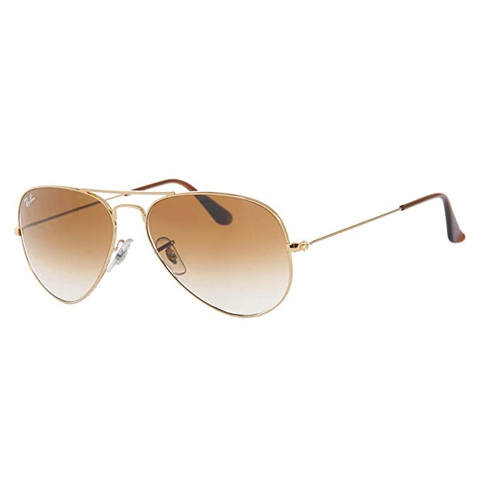9cf45c4ac1 Ray-Ban RB3025 Aviator Large Metal Aviator Sunglasses
