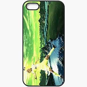 Personalized iPhone 5 5S Cell phone Case/Cover Skin Alex De Souza FIFA UEFA Fenerbahce Football Black