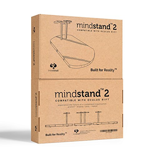 Large Product Image of TreeCloud 9 MindStand 2 | VR Headset Stand Oculus Rift | Oculus Headset Holder | Oculus Rift Accessories | Patents Pending