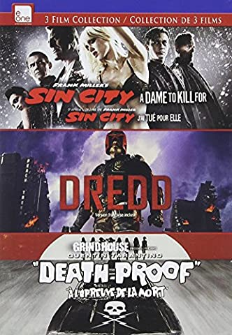 Sin City: A Dame To Kill For/Dredd/Death Proof Dvd Triple Feature (City Of Sin Dvd)