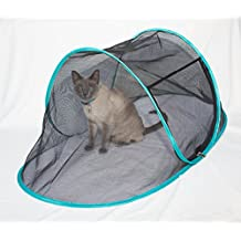 THE CAT HOUSE Indoor Outdoor Portable Catio Enclosure Pet Tent For Yard Balcony Deck Rv Travel