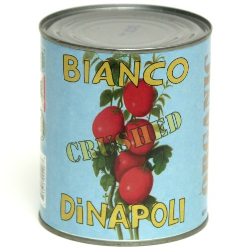 Bianco DiNapoli Organic Crushed Tomatoes 28 oz (Pack of 12)