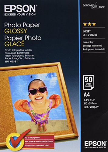 Epson Photo Paper Glossy A4 50 shee