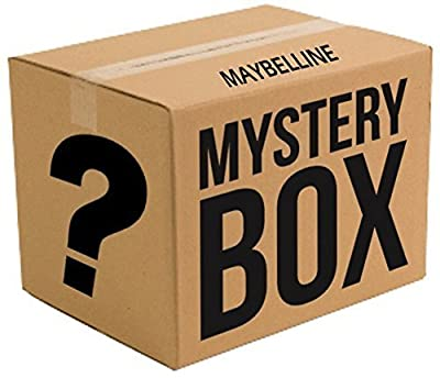 Maybelline Lot of 10-piece Cosmetics Mystery Collection Box