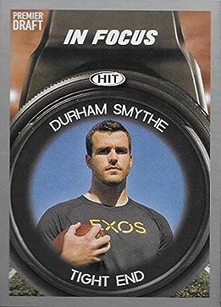 1a1ce6f9ebb6b Amazon.com: 2018 SAGE Hit Premier Draft Silver #116B Durham Smythe ...