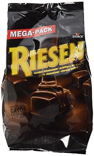 Riesen – Kräftiges Karamell umhüllt von dunkler Schokolade für eine kleine Pause vom stressigen Alltag – (1 x 900g Beutel)