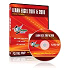 Learn Microsoft Excel 2007 and 2010 Software Training Course – Self-Paced Learning on DVD by Simon Sez IT