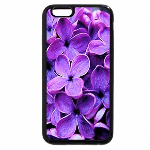 iPhone 6S / iPhone 6 Case (Black) Lilac up close